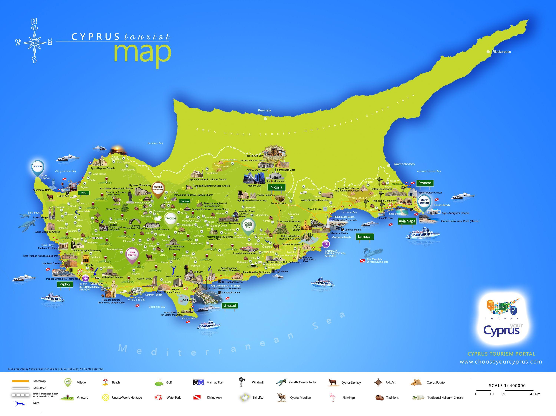 Lara Ranta Kyproksen Kartta Kartta Lara Beach Kypros Etela